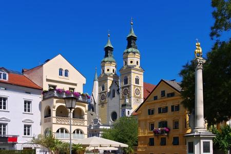 Brixen in South Tyrol - the town Bressanone in Alto Adige