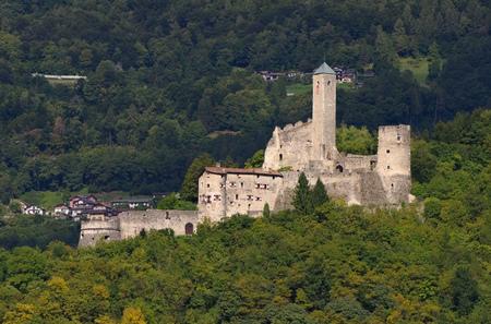 castel: near Borgo Valsugana in Trentino, the Castel Telvana