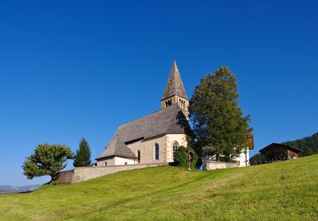 alto adige: church St. Michael in Kastelruth, Alto Adige