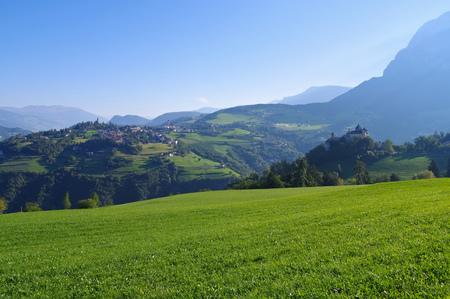 Proesels castle in italian Dolomites