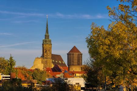 town Bautzen in Upper Lusatia, Germany
