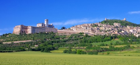 of assisi: Assisi Stock Photo