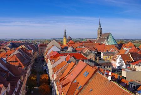 townscape: townscape Bautzen in Upper Lusatia, Germany