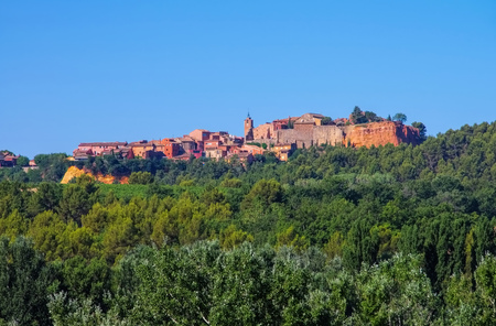 Roussillon in  Vaucluse , Provence in France