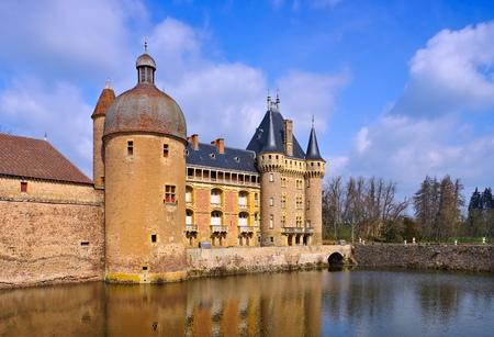Chateau La Clayette in Burgundy, France
