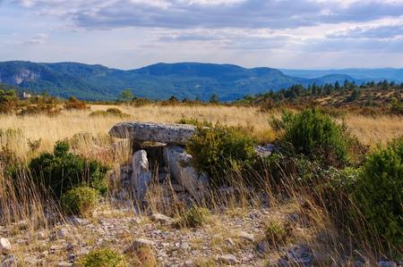 druid: Dolmen de la Roque in southern France
