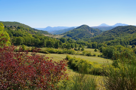 midi: Corbieres landscape in southern France