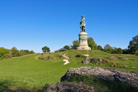 Vercingetorix monument in Burgundy, France