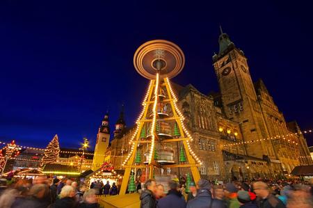 striezelmarkt: Chemnitz christmas market in Germany