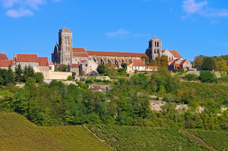 Abbaye Sainte-Marie-Madeleine de Vezelay, Burgundy in France