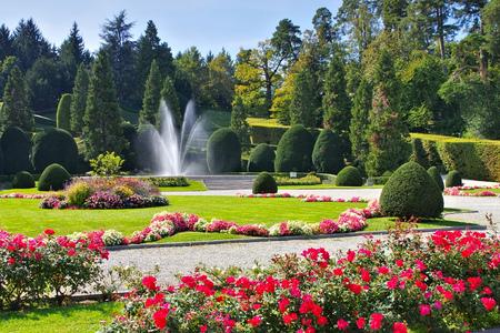 Varese Giardini di Palazzo Estense in Italy