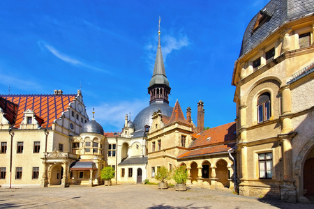 Schoenfeld palace in eastern Germany Stock Photo - 115572485