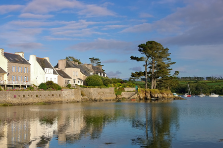 Lanildut  in Finistere in Brittany, France