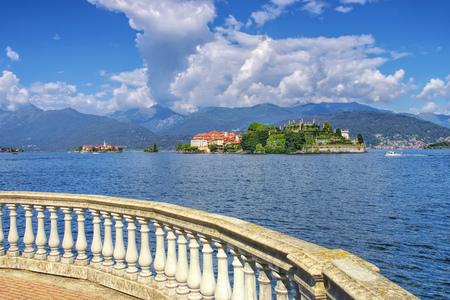 Isola Bella, Borromean Islands, Lago Maggiore, Piedmont in Italy Standard-Bild - 116246873