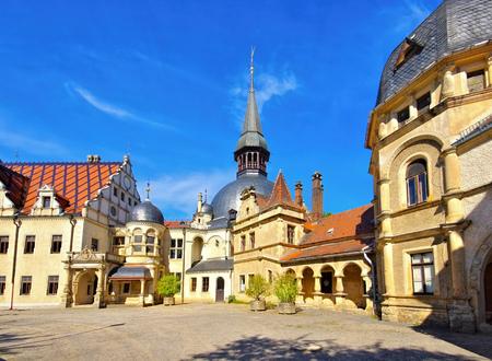 Schoenfeld palace in eastern Germany