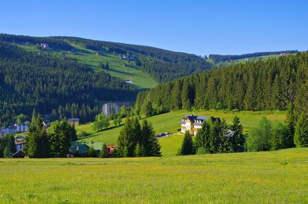 Pec pod Snezkou in Giant  Mountains in Bohemia