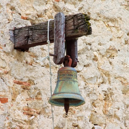 church bell Standard-Bild