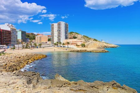 Beaches around Cullera, Province Valencia in Spain