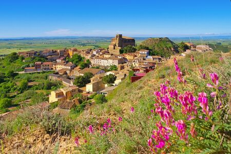 Colegiata de Bolea, Aragon in Spain