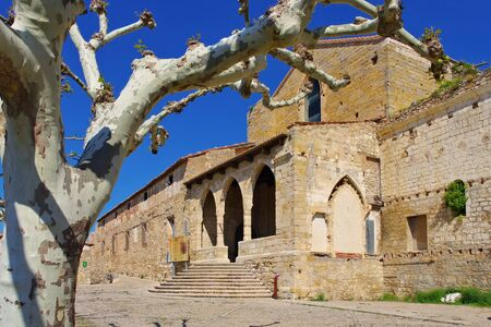 Convent of Sant Francesc in the old medieval town of Morella, Castellon in Spain