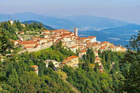 the village Sacro Monte di Varese in Italy