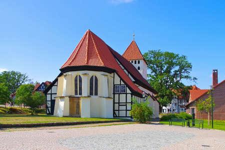 Hankensbuettel church in Lower Saxony, Germany