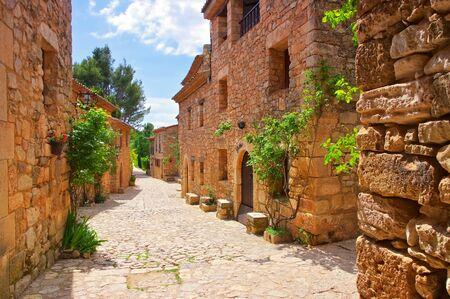 village Siurana in Catalonia mountains, Spain