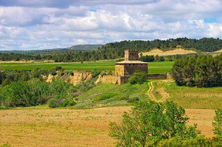 Castillo de Ballestar near Huesca, Aragon in Spain