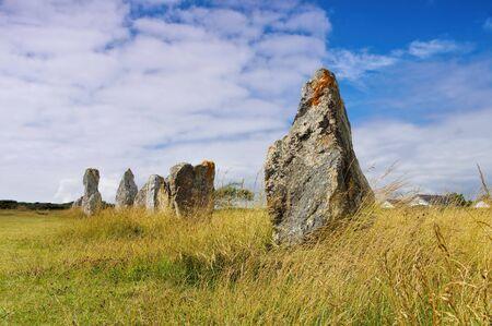 Alignements de Lagatjar, Crozon in Brittany