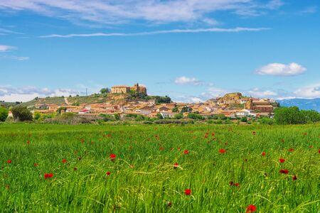 the medieval town of Sesa in Aragon, Spain