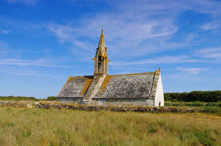 Treguennec Chapelle Saint-Vio in Brittany, France