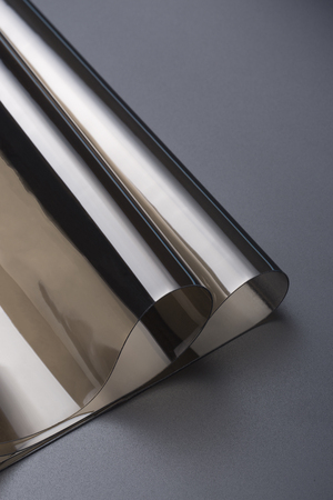 Transparent PVC soft film