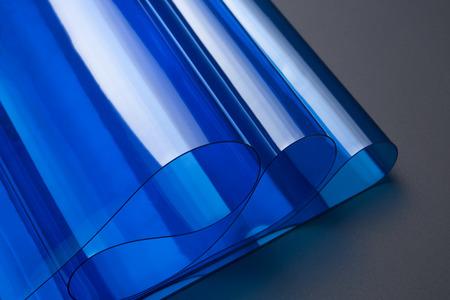 Transparent PVC soft film