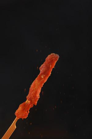 Meat skewers Banque d'images - 111081600