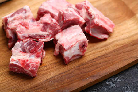 Fresh ribs Stock Photo