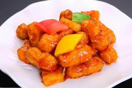 Pineapple Sweet and Sour Pork dish