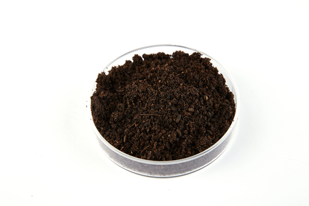 Fertilizer soil Standard-Bild - 112663070