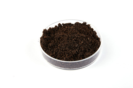 Fertilizer soil Standard-Bild - 112663082