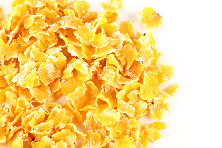 Corn flakes feed Archivio Fotografico