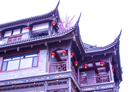 Chinese ancient building Editorial