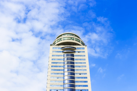 the tall building