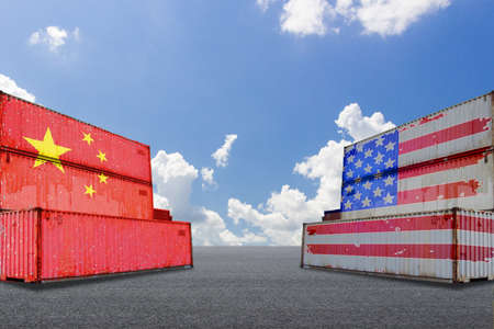 The trade friction between China and the U.S. triggers a trade war