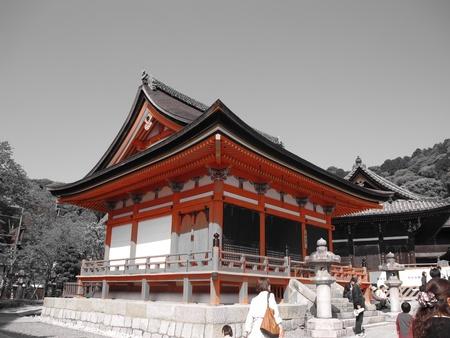 osaka: Temple in Osaka, Japan Editorial