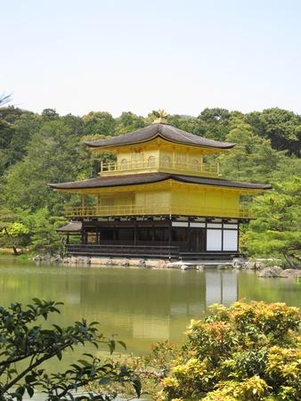 rokuonji: Golden Pavilion, Rokuon.Ji Temple, Japan