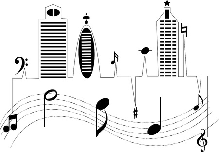 Music from the modern city