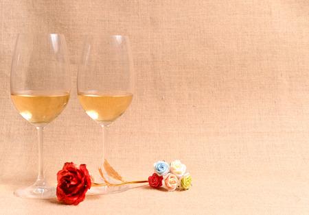 leisurely: white wine