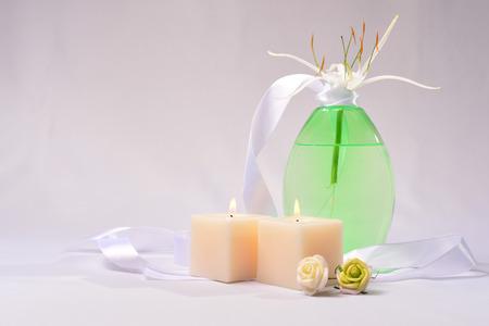 bodywash: a bottle of body-wash Stock Photo