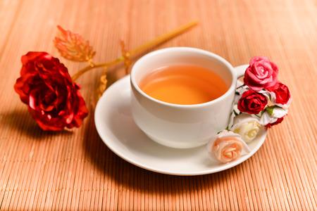 leisurely: flower tea