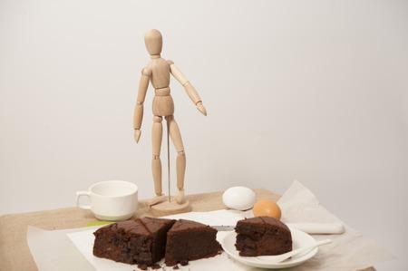 cocoa banana cake