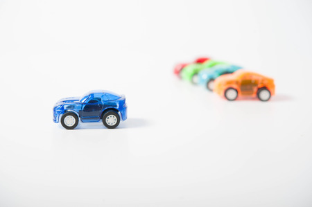 unaffected: toy cars  Stock Photo